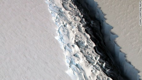 Iceberg the size of Delaware to break off from Antarctica