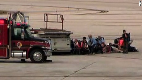 ft lauderdale crowd ducks for cover tarmac