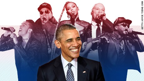 Barack Obama's evolution in 10 years of hip-hop lyrics