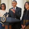 14 Sasha and Malia Obama FILE