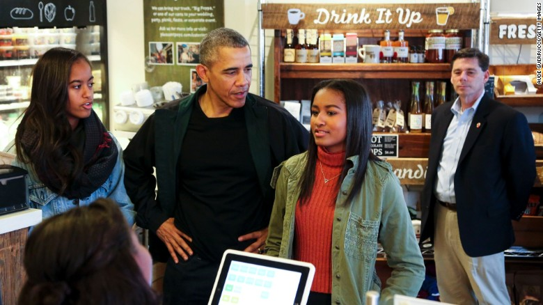 Where is Sasha Obama? The Internet guesses