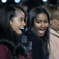 16 Sasha and Malia Obama FILE