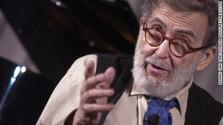 Nat Hentoff, writer and jazz critic, at the NEA Jazz Masters conference in New York City in 2004.