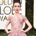 golden globes 2017 - Lily Collins