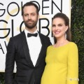 golden globes 2017 - Natalie Portman and Benjamin Millepied
