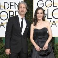 golden globes 2017 - Winona Ryder and Scott Mackinlay Hahn