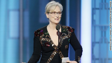 Meryl Streep gave a powerful speech while accepting the Cecil B. DeMille Award during the 74th Annual Golden Globe Awards.