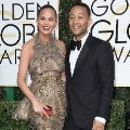 golden globes 2017 - Chrissy Teigen and John Legend