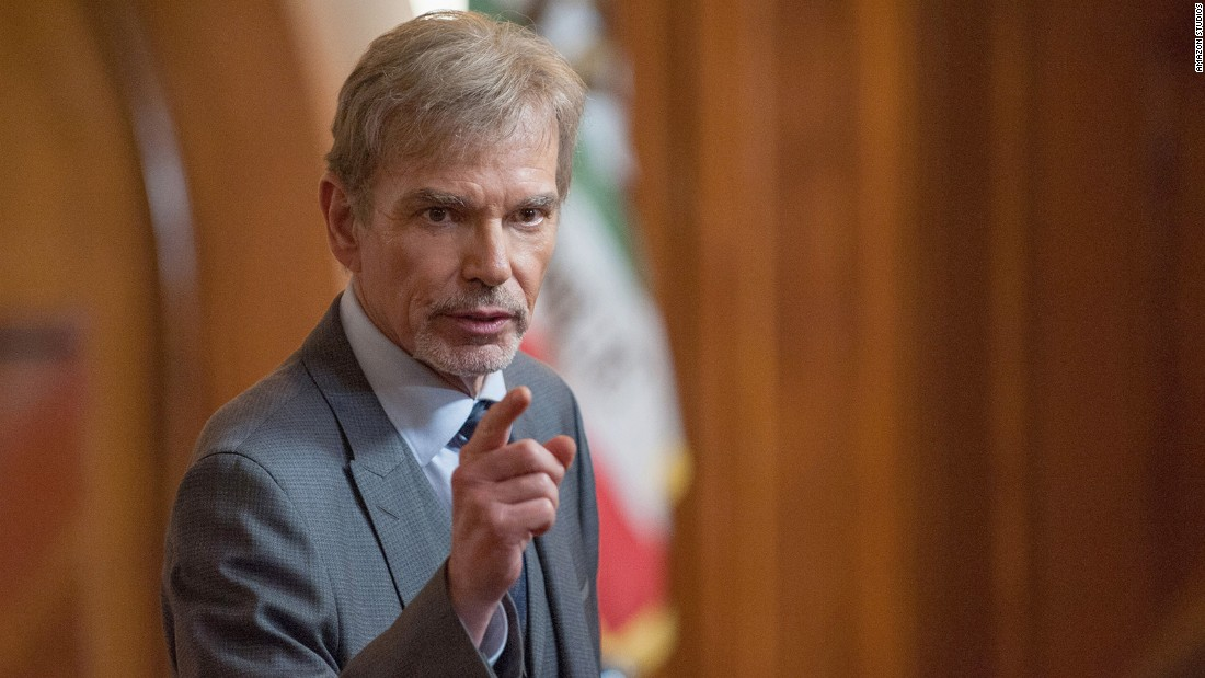 "<strong>Best actor in a television series -- drama: </strong>Billy Bob Thornton, ""Goliath"""
