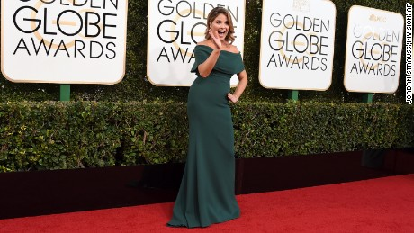 Jenna Bush Hager arrives at the 74th annual Golden Globe Awards at the Beverly Hilton Hotel on Sunday, January 8, 2017, in Beverly Hills, California.