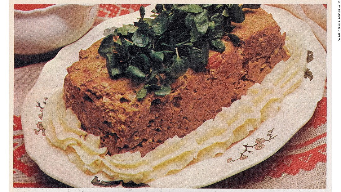 <strong>Piquant Meat Loaf -- </strong>Growing up in London in the 1970s with a Hungarian father, there was a lot of meat in Pallai's household. She's now a vegetarian.