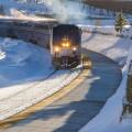 amtrak colorado ski train arrival winter park