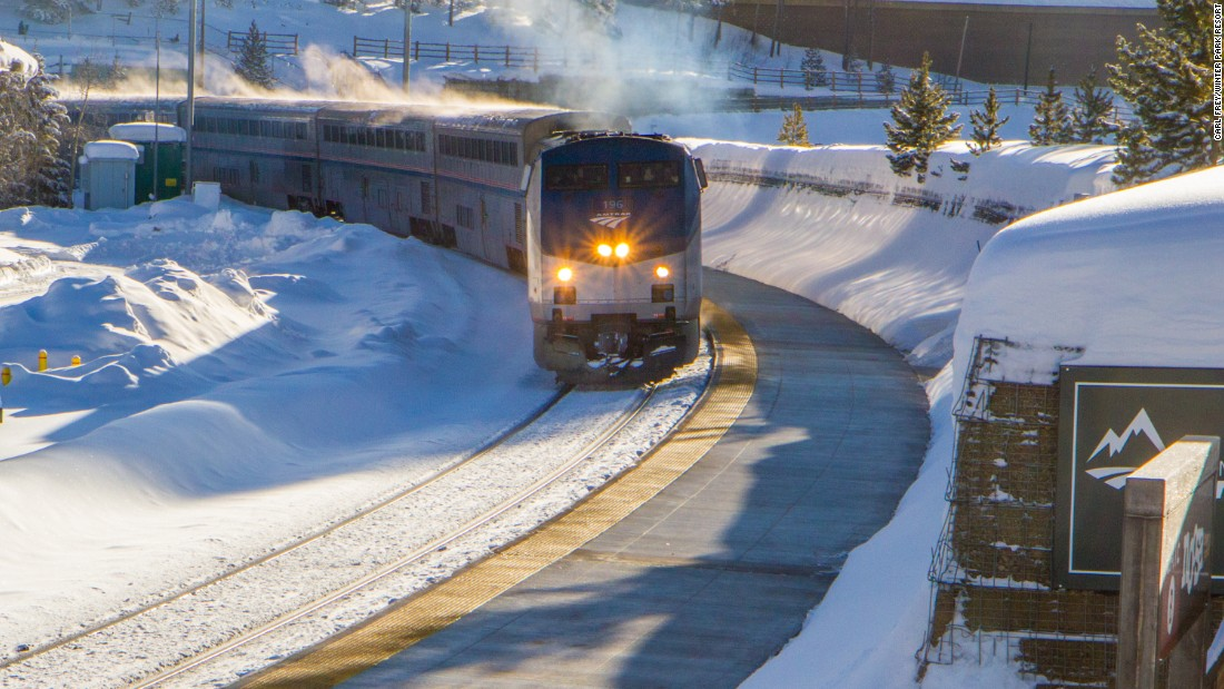For its first season, the train will operate a round trip every Saturday and Sunday and on holiday Mondays until March 26.
