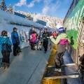 amtrak colorado ski train winter park arrival