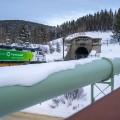 amtrak colorado ski train departing resort