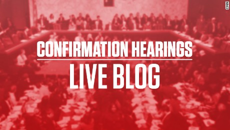 Trump confirmation hearings: Day 2
