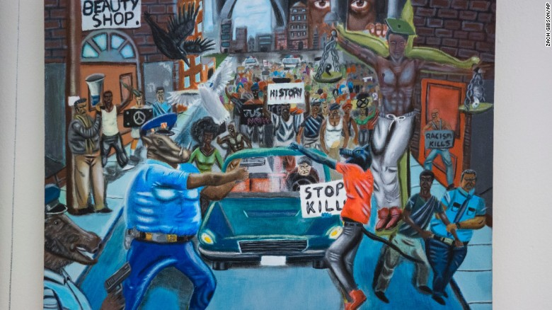 Event set to re-hang controversial painting