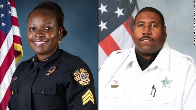 2 officers dead in Orlando manhunt