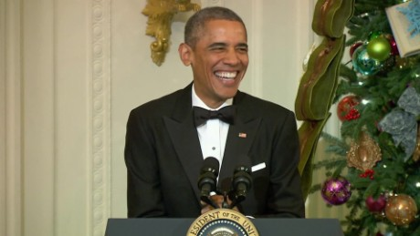 obama laughs at his own jokes sg orig_00004321