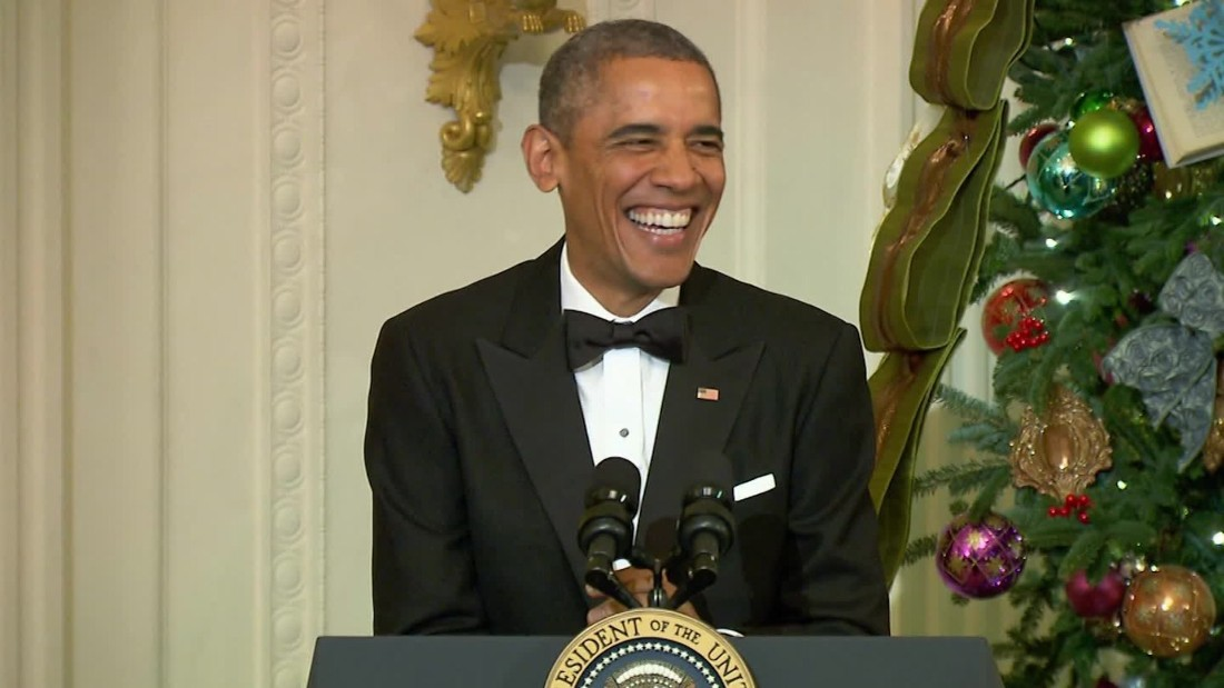 humor in president obamas inaugural speech Barack obama's inaugural speech was a very memorable speech because of many different reasons he re.