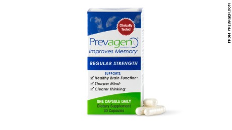 Prevagen is advertised nationally and sold in major pharmacies.