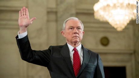 Sessions: I'd recuse myself from Clinton probe
