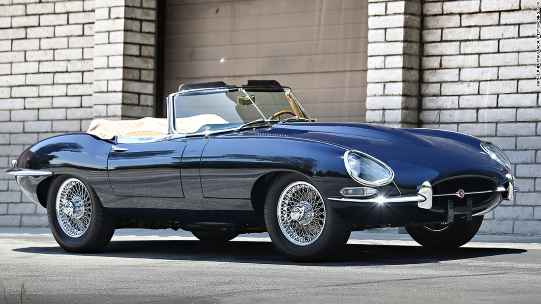 1967 Jaguar E-Type Series 1 4.2 litre Roadster