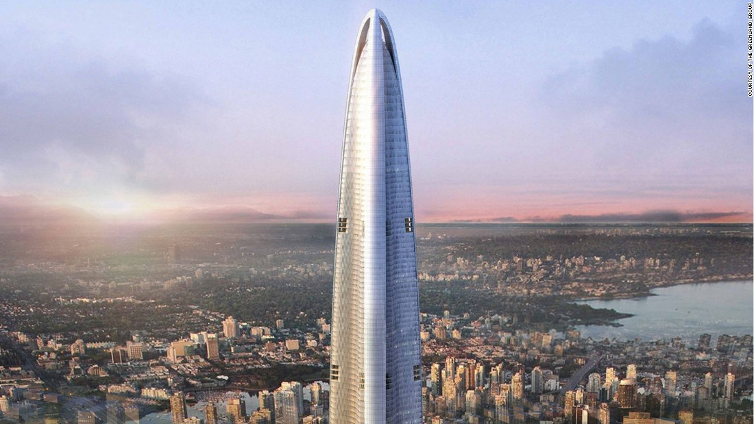 The tallest buildings rising in 2017