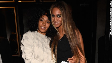 Solange Knowles sat down for an interview conducted by her sister Beyonce.