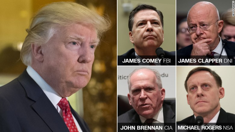 Intel chiefs inform Trump of Russian claims