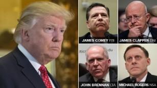Trump hints CIA chief was leaker