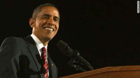 Obama's 2008 election victory speech