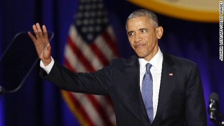 President Obama farewell address: full text