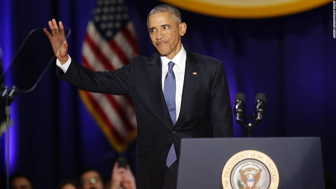 President Obama farewell address: full text, video ...