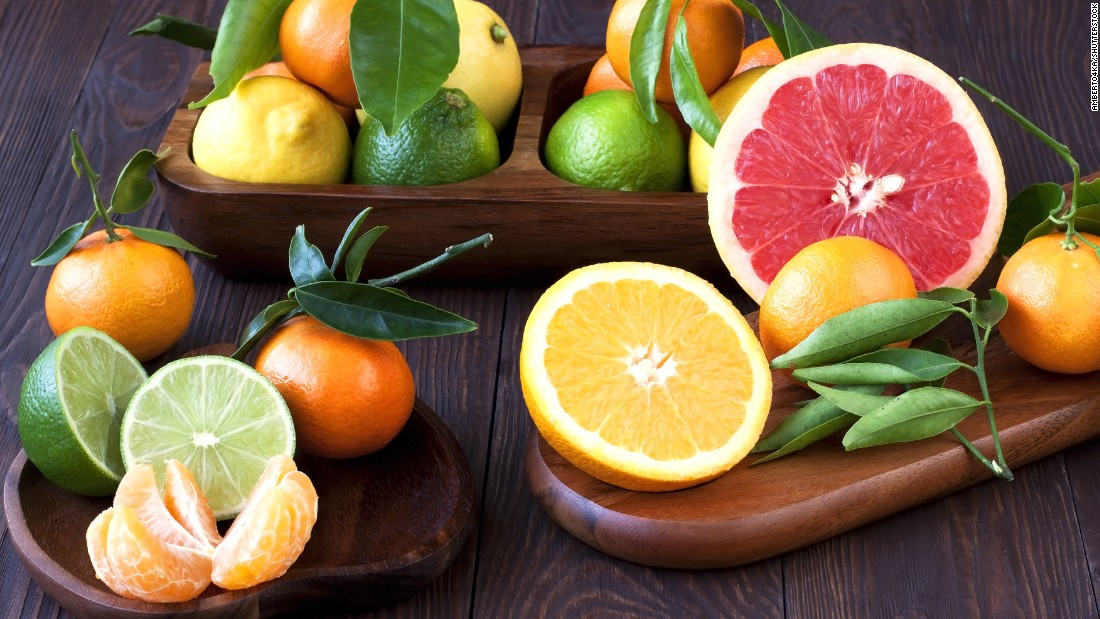 Some varieties of citrus are actually better in the winter, because they're at peak ripeness. Navel oranges, mandarin oranges and grapefruit are some of the most flavorful options.