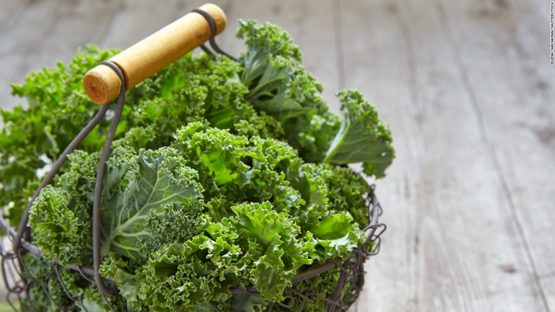 Kale and other leafy greens, like Swiss chard and collard greens, are packed with antioxidants. They're also a nice alternative to dairy for calcium and are a good source of iron and folate.