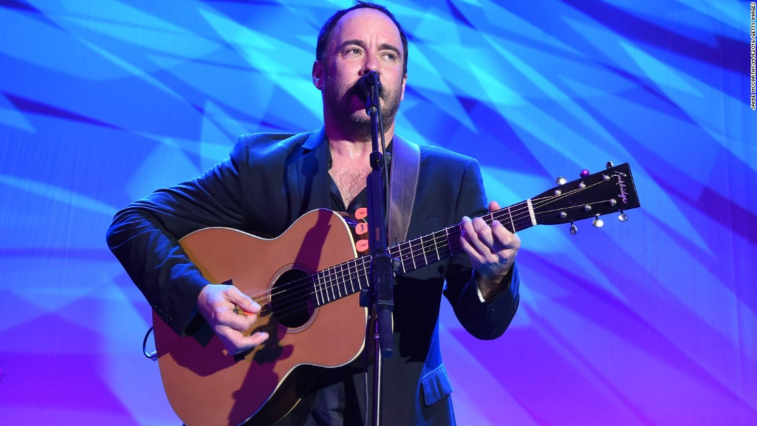 Musician Dave Matthews celebrated his big day on January 9.