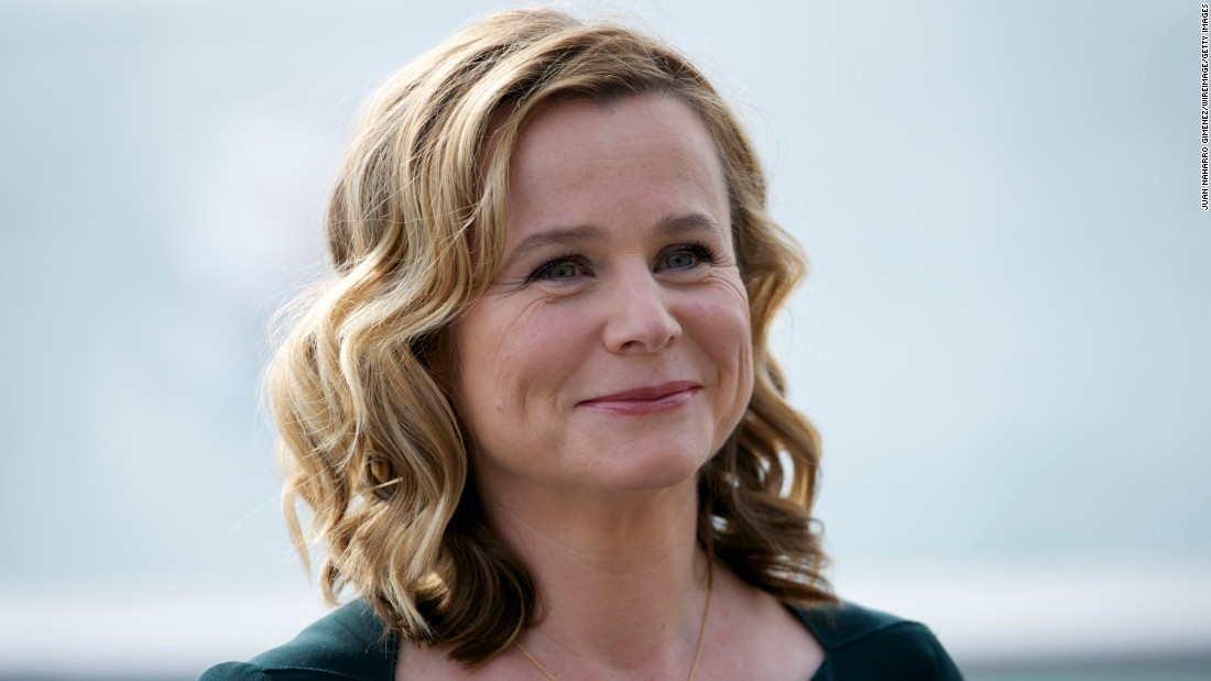 British actress Emily Watson breaks the waves of being a quinquagenarian on January 14.