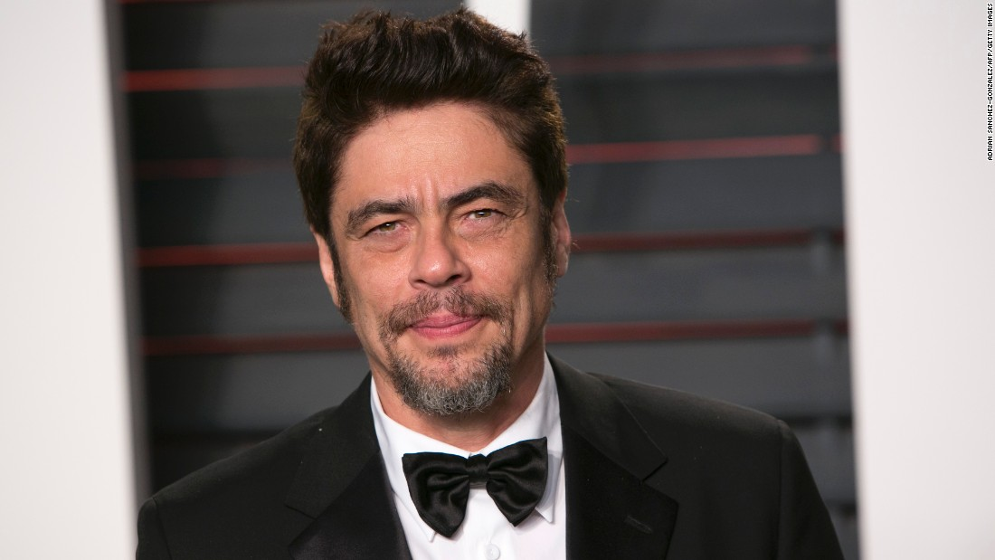 "Movie star Benicio del Toro might round up some of the ""Usual Suspects"" for his big day on February 19."