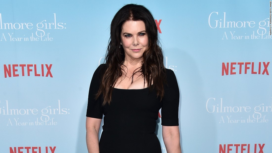 "Remember to raise a cup of java in honor of ""Gilmore Girls: A Year In The Life"" star Lauren Graham on March 16."