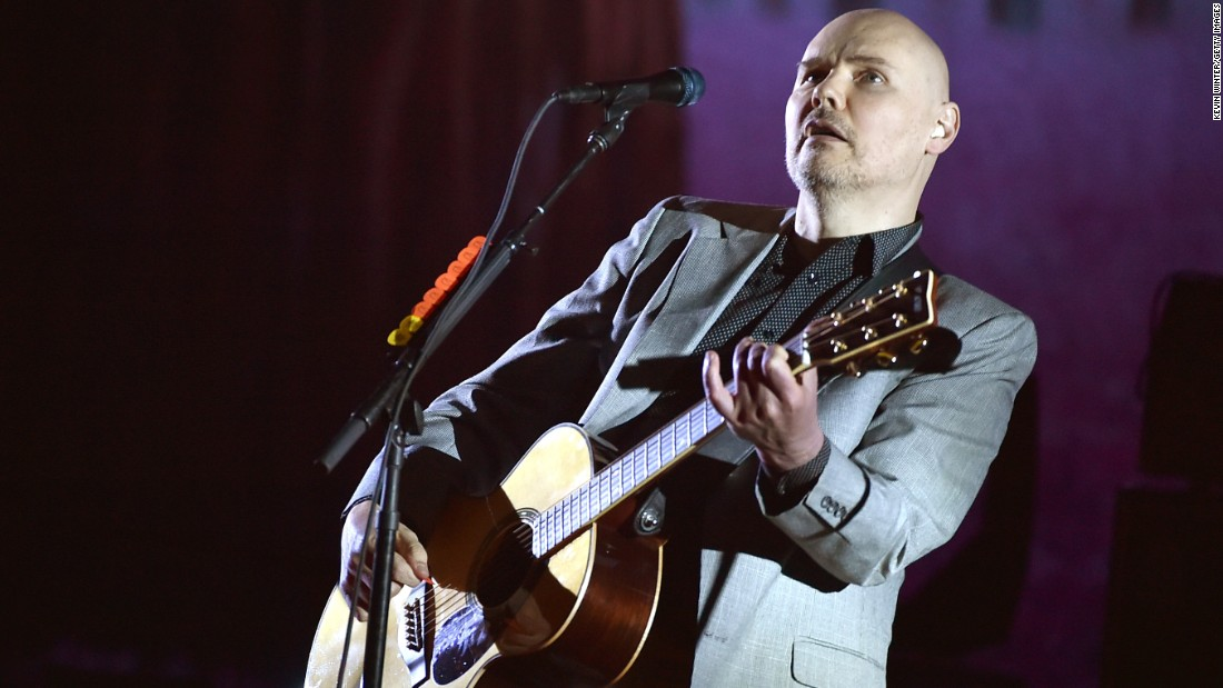 Here's hoping Billy Corgan has a Smashing (Pumpkins) time on March 17.