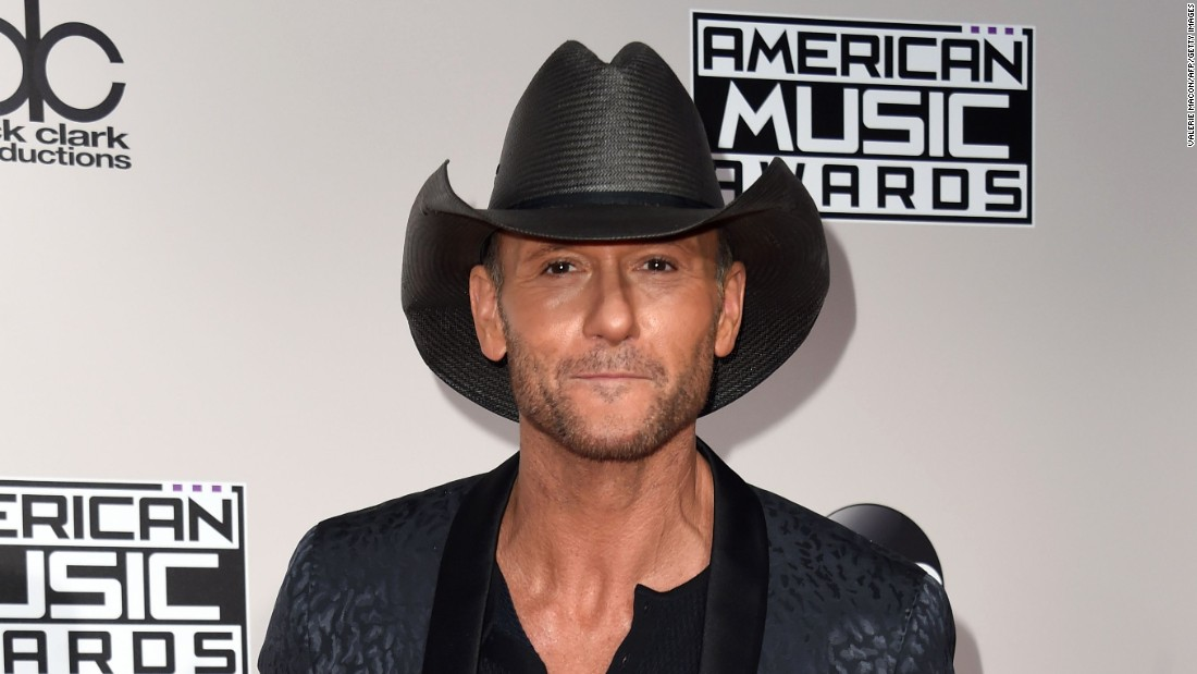 Country superstar Tim McGraw marks his milestone the same year as his wife Faith Hill (more on that later). His birthday is May 1.