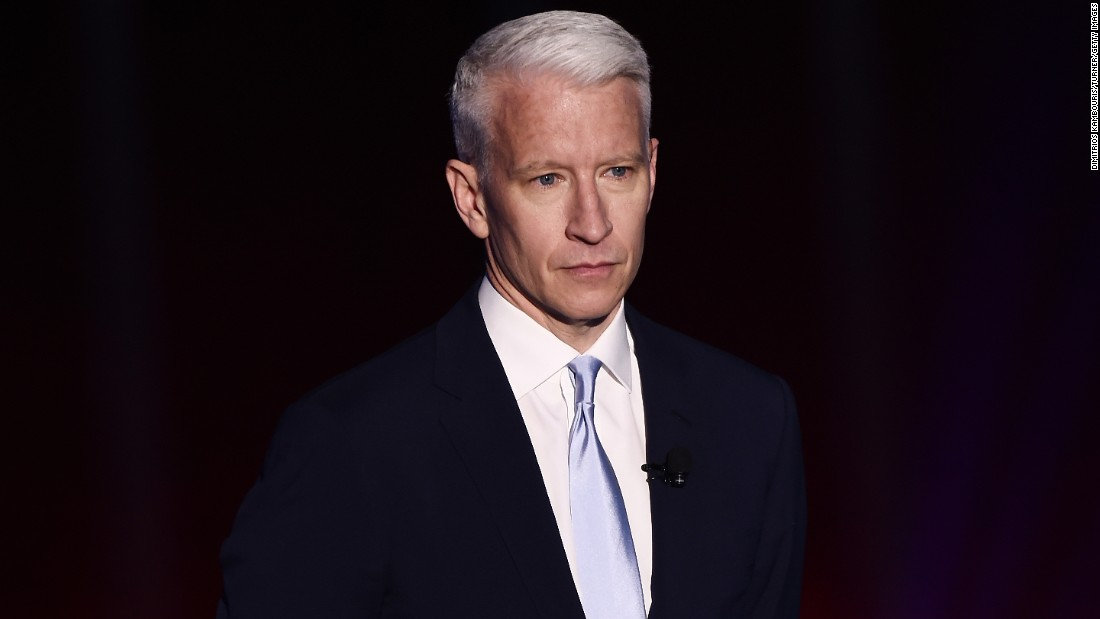 Newsflash! CNN's Anderson Cooper turns 50 on June 3.