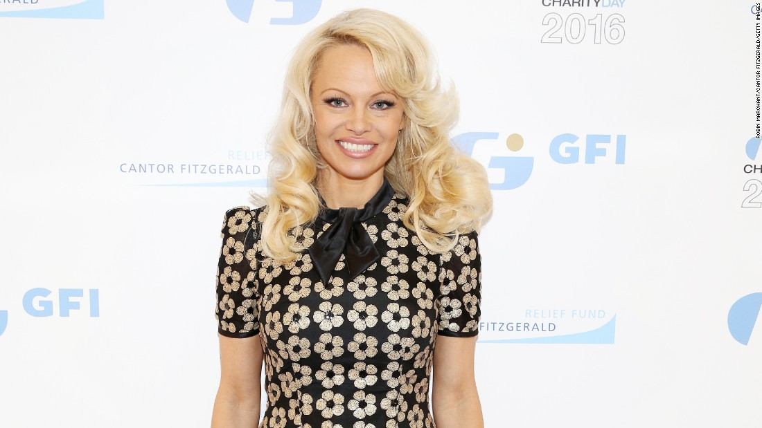 """Baywatch"" beauty Pamela Anderson marks a half-century on July 1."