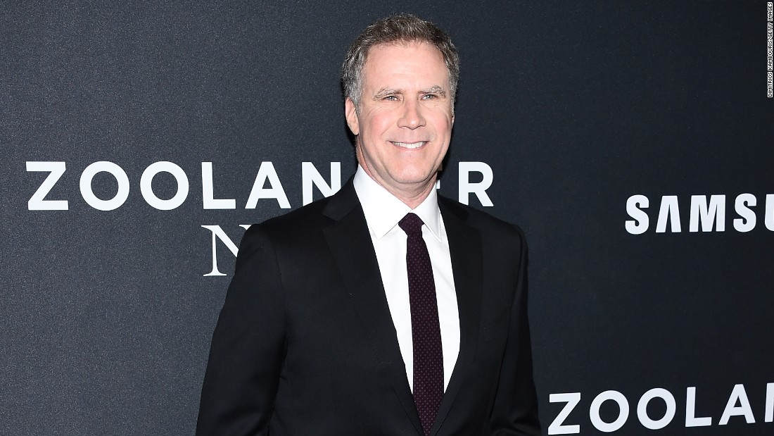 July 16 is the big day for Will Ferrell.