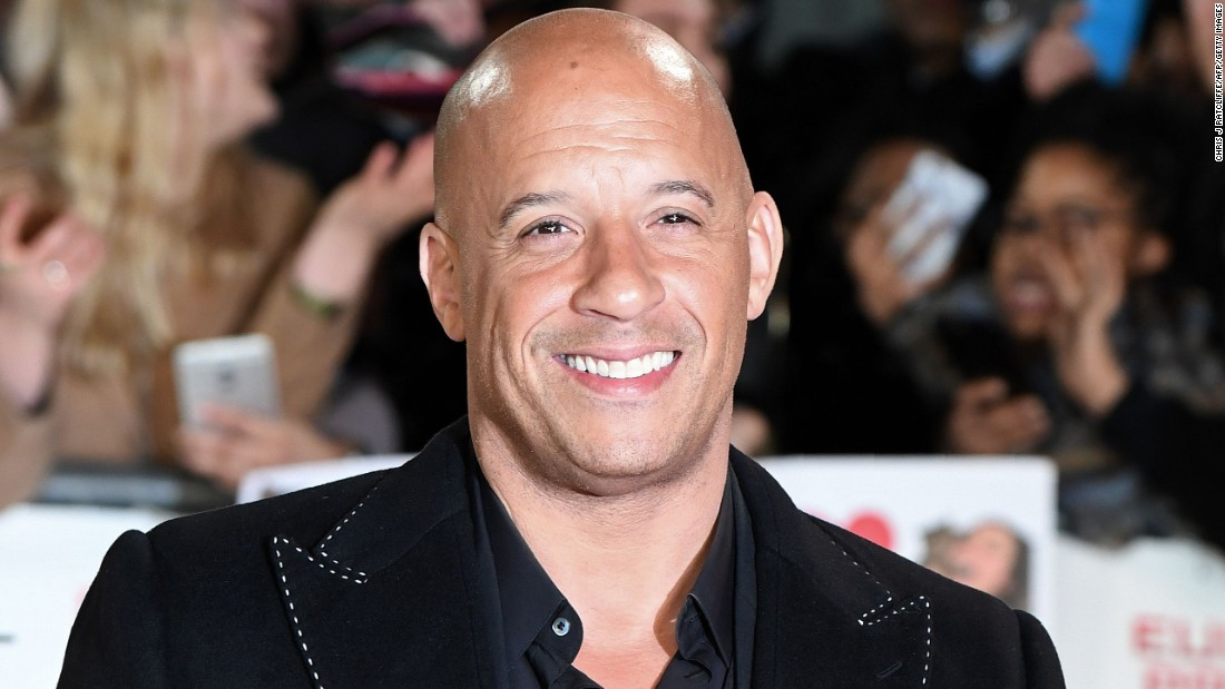 Vin Diesel goes racing into his birthday on July 18.