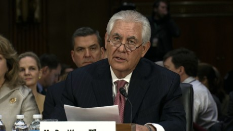Tillerson: Russia 'poses a danger'