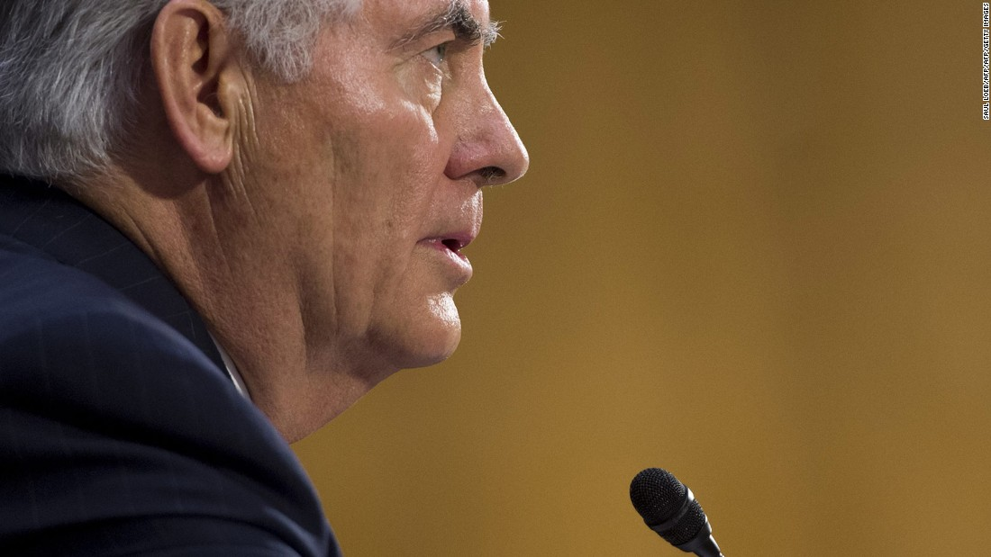 Tillerson sets the stage for a showdown with China