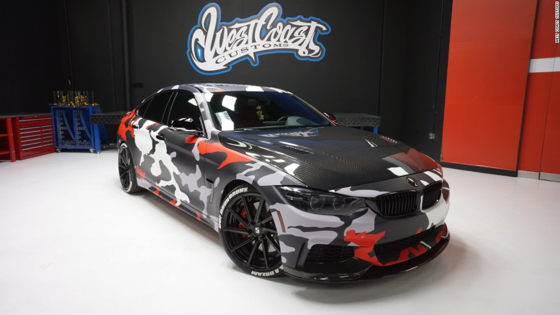 This BMW 4 Series Gran Coupe was customized for Yousef Erakat, the face of the popular fouseyTUBE YouTube channel.