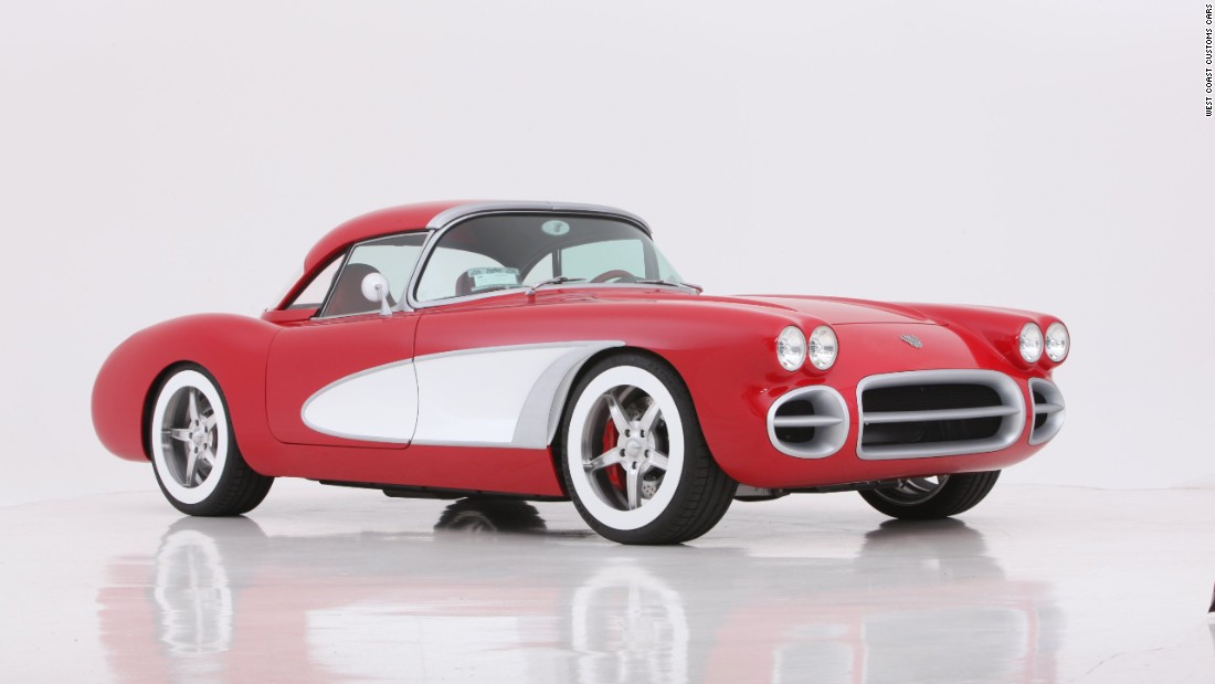 Will.i.am turned to West Coast Customs to upgrade his 1958 Corvette.
